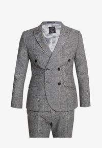 Shelby & Sons - KIRKHAM SUIT DOUBLE BREASTED  - Suit - grey - 8