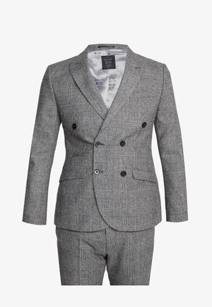 KIRKHAM SUIT DOUBLE BREASTED  - Garnitur - grey