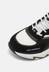 KARL LAGERFELD - BLAZE PYRO MIX LACE - Tenisky - white/black - 6