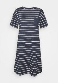 Marks & Spencer London - STRIPE  - Nattskjorte - navy - 0