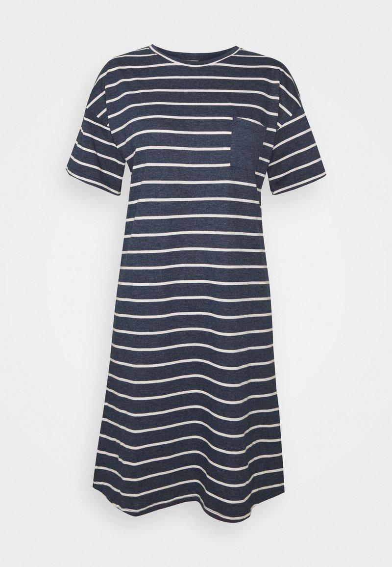 Marks & Spencer London - STRIPE  - Nattskjorte - navy