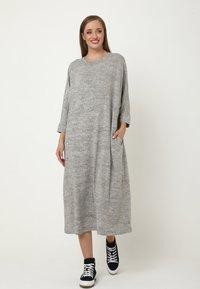 Madam-T - Jumper dress - grau - 0