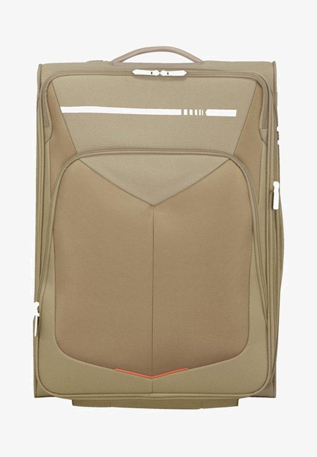 MIT 4 ROLLEN - Wheeled suitcase - beige