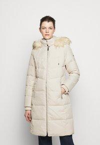 Lauren Ralph Lauren - HAND COAT HOOD - Down coat - moda cream - 0