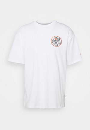 HARING ELEVATED GRAPHIC TEE UNISEX - Print T-shirt - white