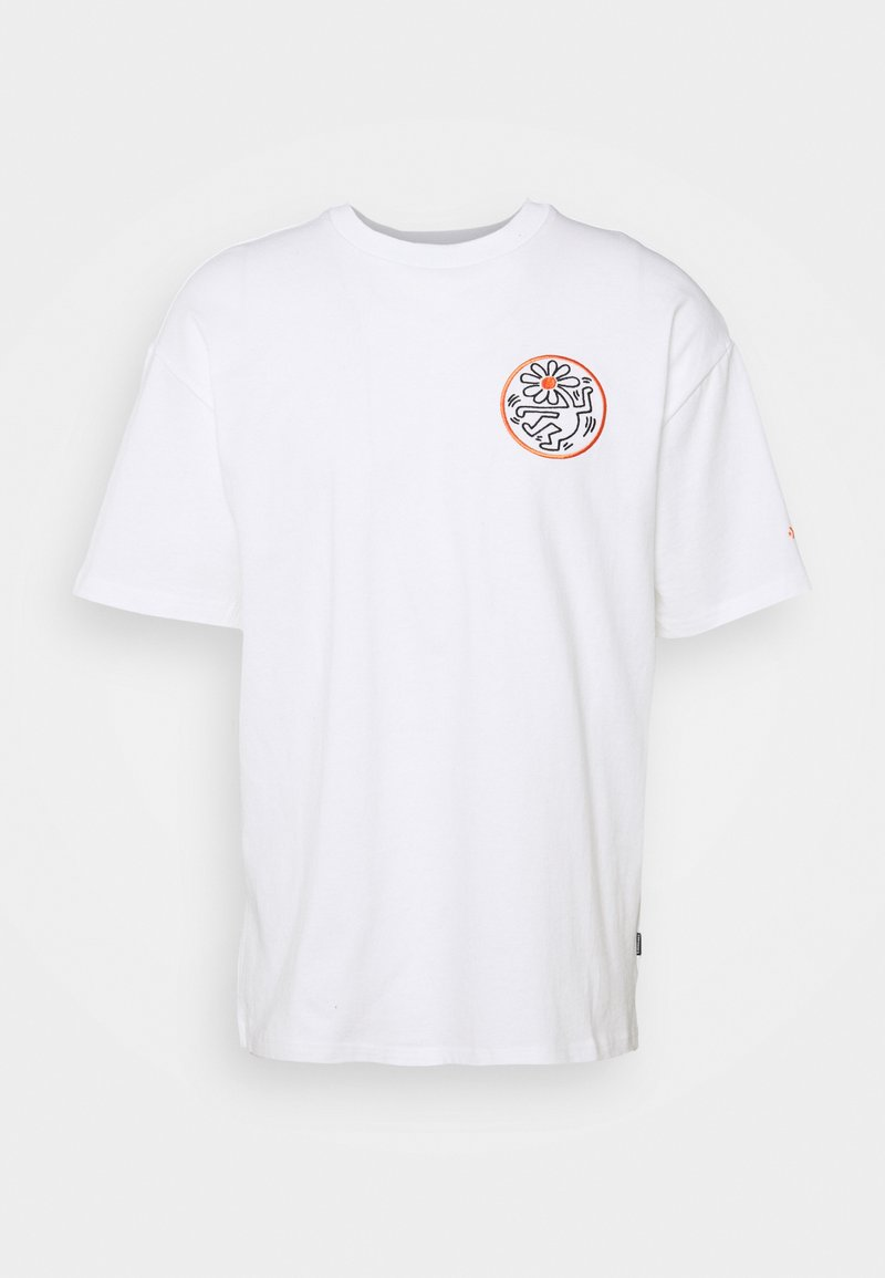 Converse - HARING ELEVATED GRAPHIC TEE UNISEX - Print T-shirt - white
