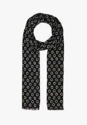 Sjal / Tørklæder - noir/ecru