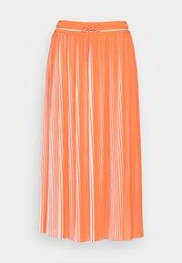 comma casual identity - Pleated skirt - orange - 3