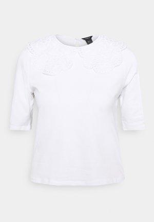 AMALIA - T-shirt print - white