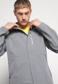 The North Face - M DRYZZLE FUTURELIGHT JACKET - Hardshell jacket - medium grey heather - 3