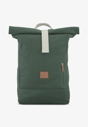 ROLL TOP ADAM - Tagesrucksack - green