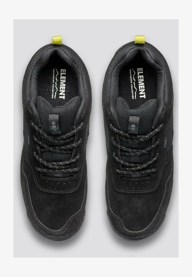 Sneakers laag - black black
