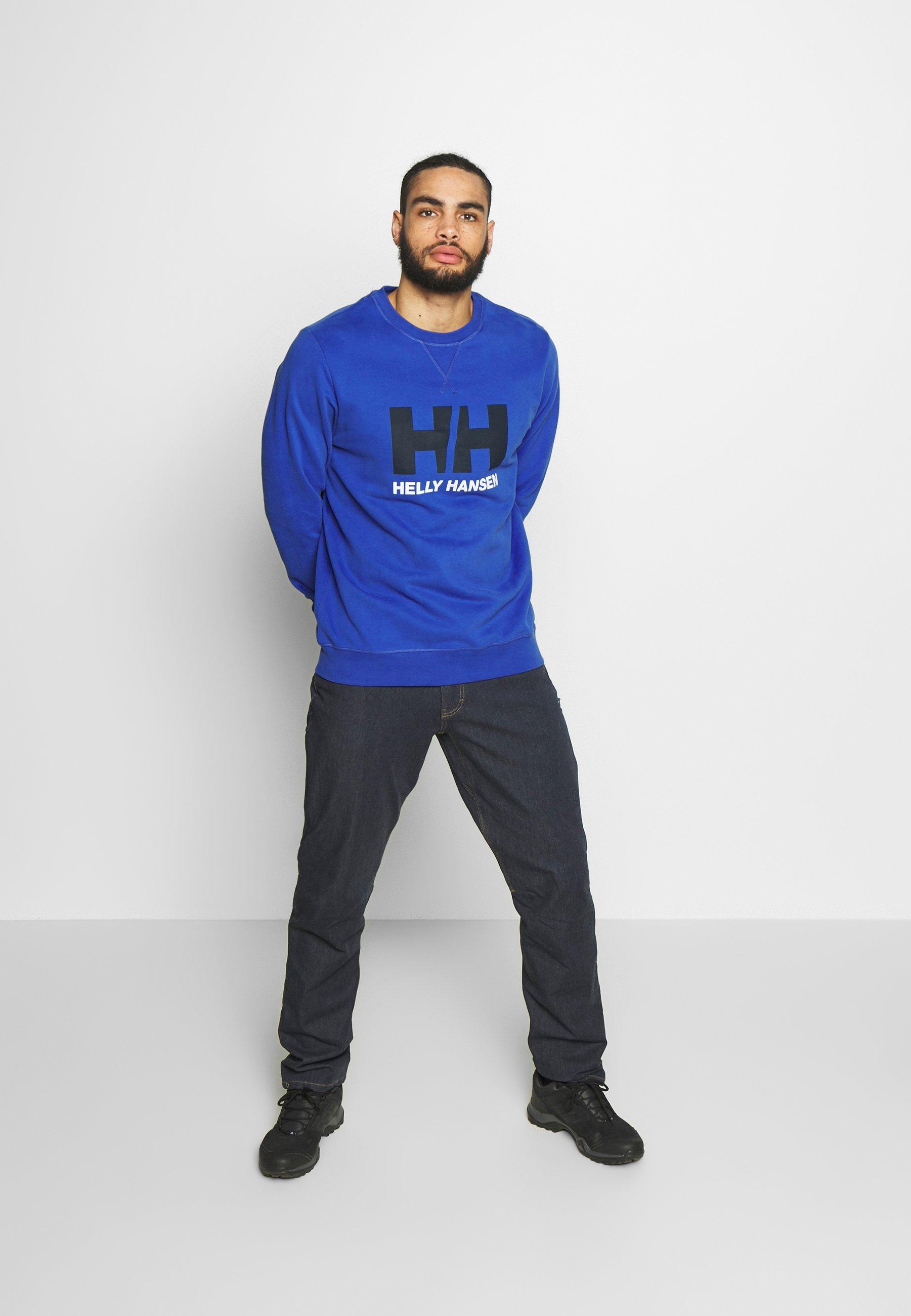 Helly Hansen LOGO CREW  - Sweatshirt - royal blue