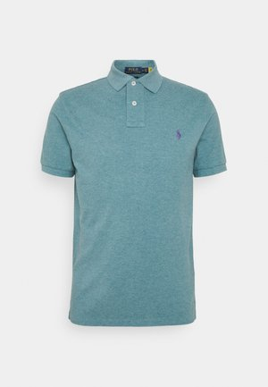 BASIC - Polo - teal heather