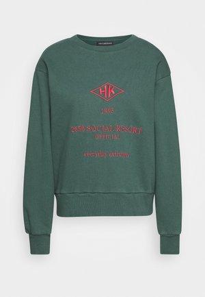 BULKY CREW - Sweatshirt - faded green