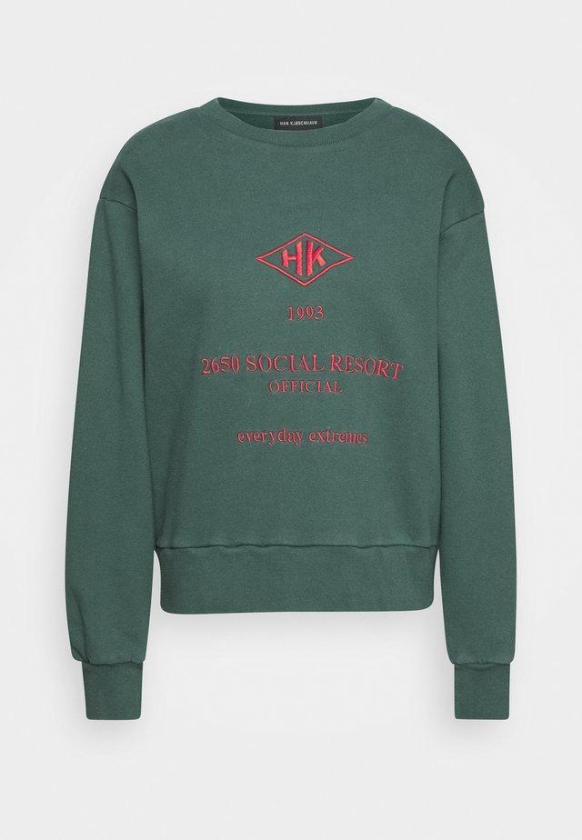 BULKY CREW - Sweatshirts - faded green
