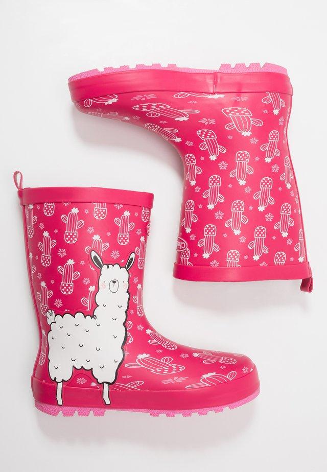 LENA - Gummistövlar - pink