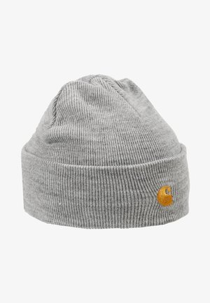 CHASE BEANIE UNISEX - Czapka - grey heather/gold