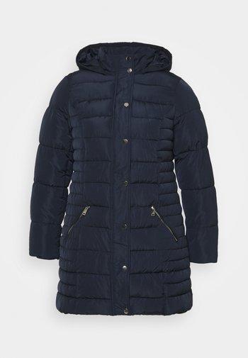 HODDED - Classic coat - navy