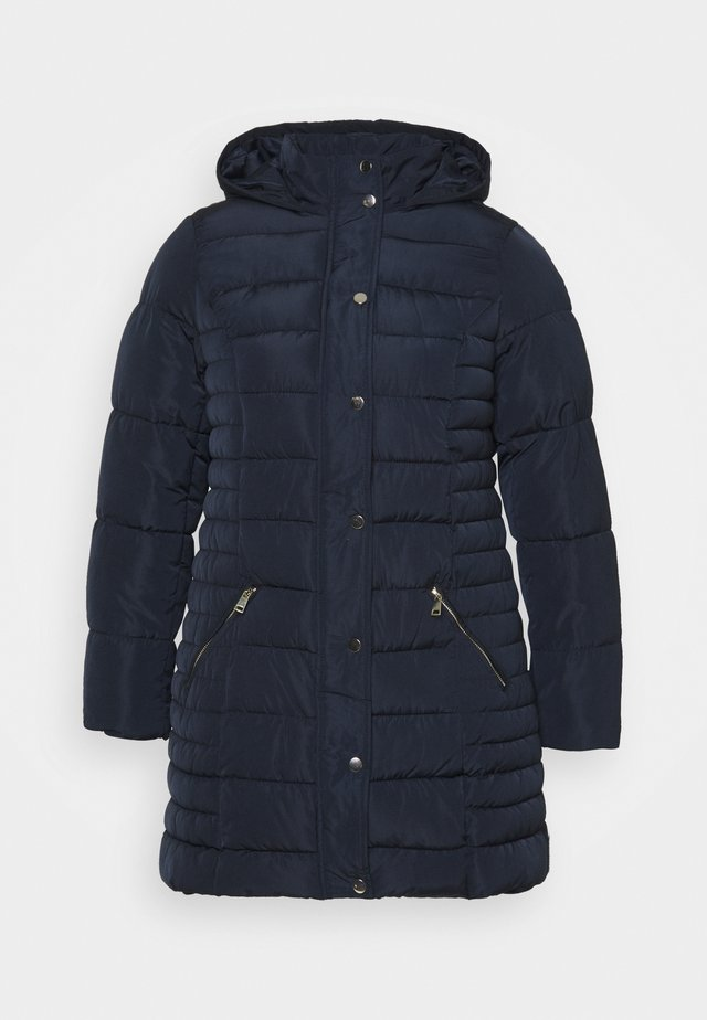 HODDED - Classic coat - navy
