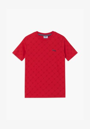FLAVIO  - Print T-shirt - true red