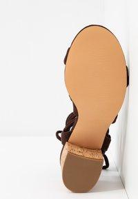 Even&Odd - Sandalias - brown - 6