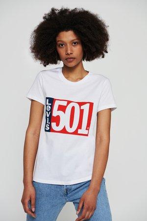 GRAPHIC TEES - T-shirt print - white
