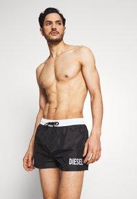 Diesel - SANDY  - Swimming shorts - black - 0