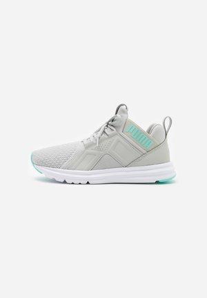 ENZO EDGE - Neutral running shoes - gray violet/aruba blue/white