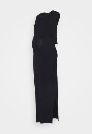 NURSING DRESS - Maxi-jurk - black