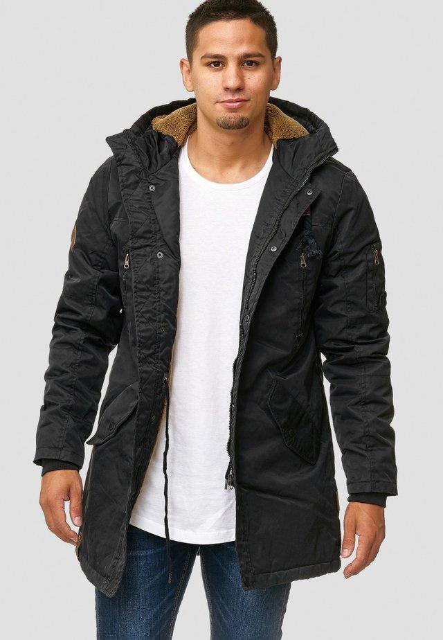 BARDSLEY - Winter coat - black