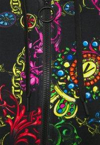 Versace Jeans Couture - Zip-up sweatshirt - black/multi - 10