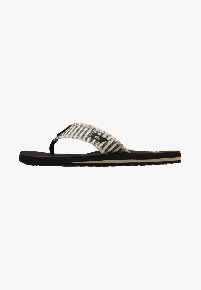 Quiksilver - MONKEY ABYSS - T-bar sandals - black/grey