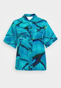 HOSBJERG - RICCI - Button-down blouse - pool - 5