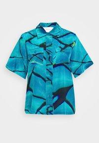 RICCI - Button-down blouse - pool