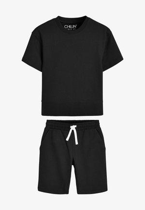 SET - Pyjama bottoms - black