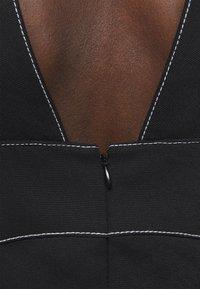 Proenza Schouler White Label - RUMPLED DRESS - Robe d'été - black - 8