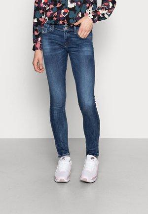 SLANDY-LOW - Jeans Skinny Fit - dark blue