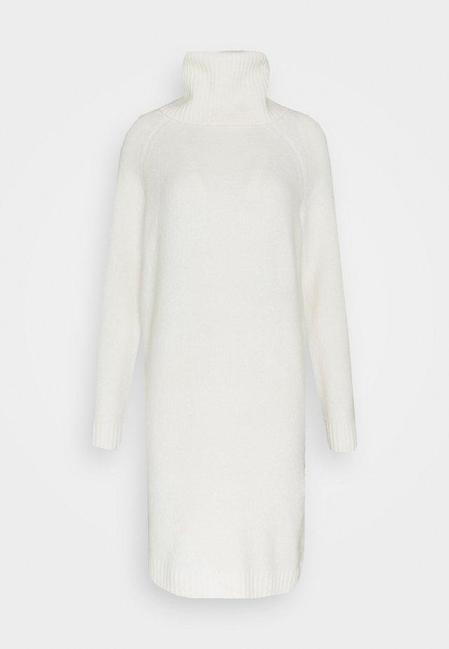 Strickkleid - whisper white