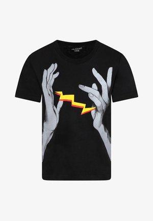 CON MANI - T-shirt print - nero
