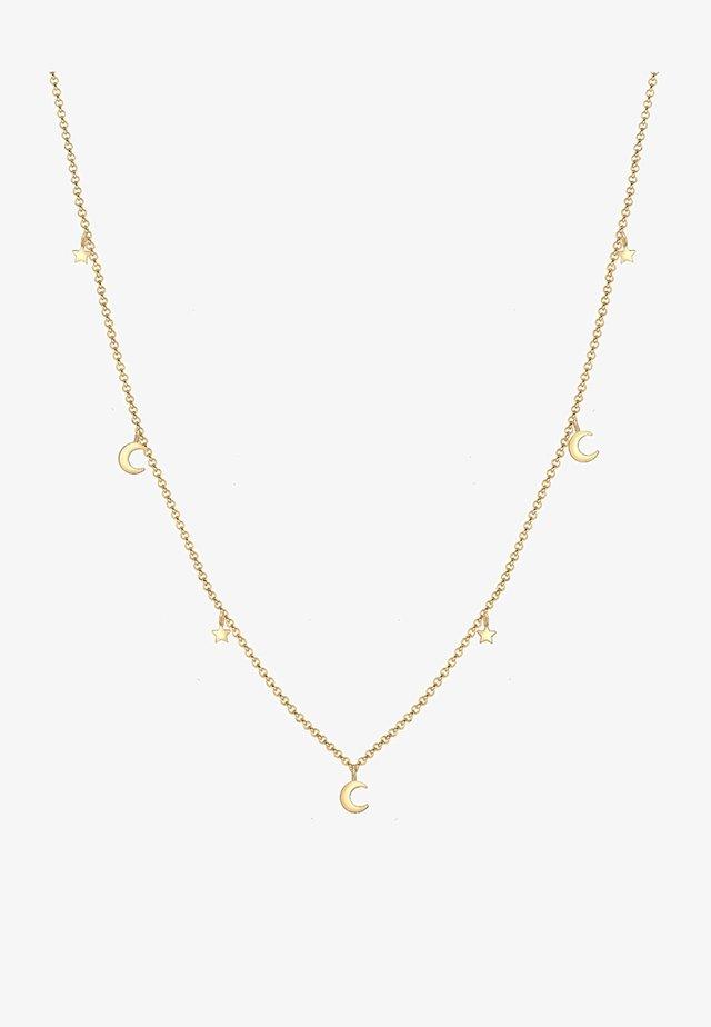 STERNE ASTRO HALBMOND TREND  - Necklace - gold-coloured