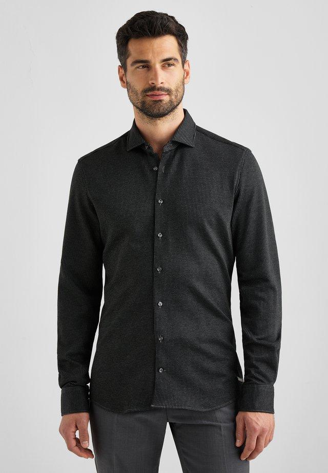 KEITH - Overhemd - sleet melange