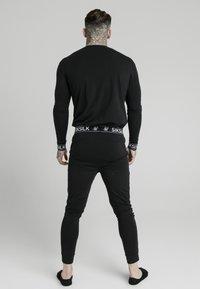SIKSILK - LOUNGE TEE - Camiseta de manga larga - black - 2
