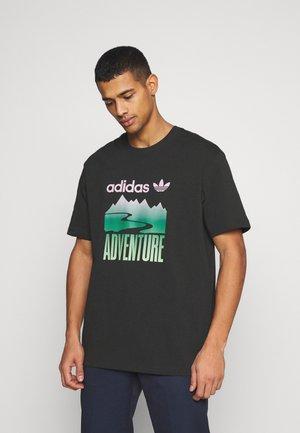 MOUNT TEE - T-shirt con stampa - black