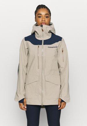TAMOK GORE TEX PRO JACKET - Ski jacket - beige