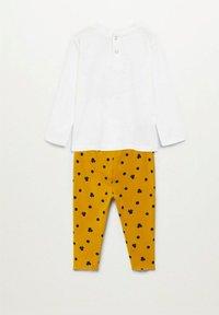 Mango - Pyjama set - złamana biel - 1