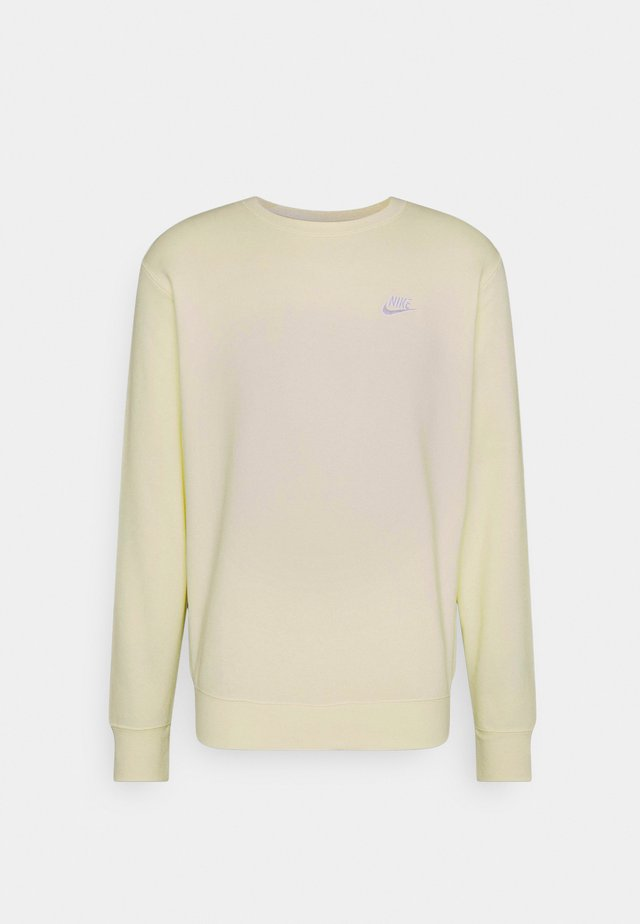 Sweatshirt - coconut milk/white