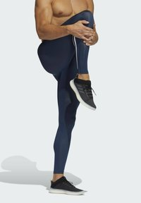adidas Performance - TECHFIT 3-STRIPES LONG TIGHTS - Collants - blue - 2