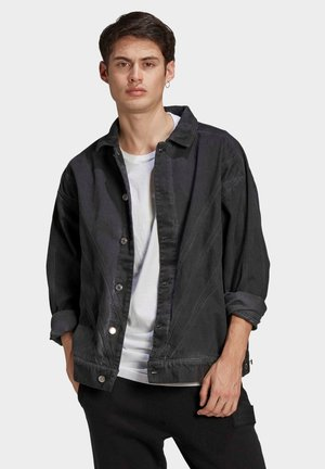 R.Y.V. DENIM JACKET - Farkkutakki - black