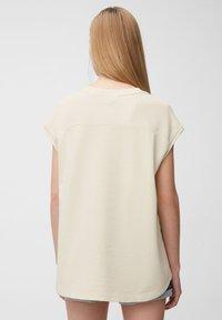 Marc O'Polo DENIM - Print T-shirt - unbleached - 2